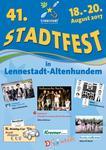 Stadtfest 2017- Infos