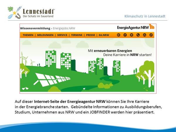 Energiejobs in NRW